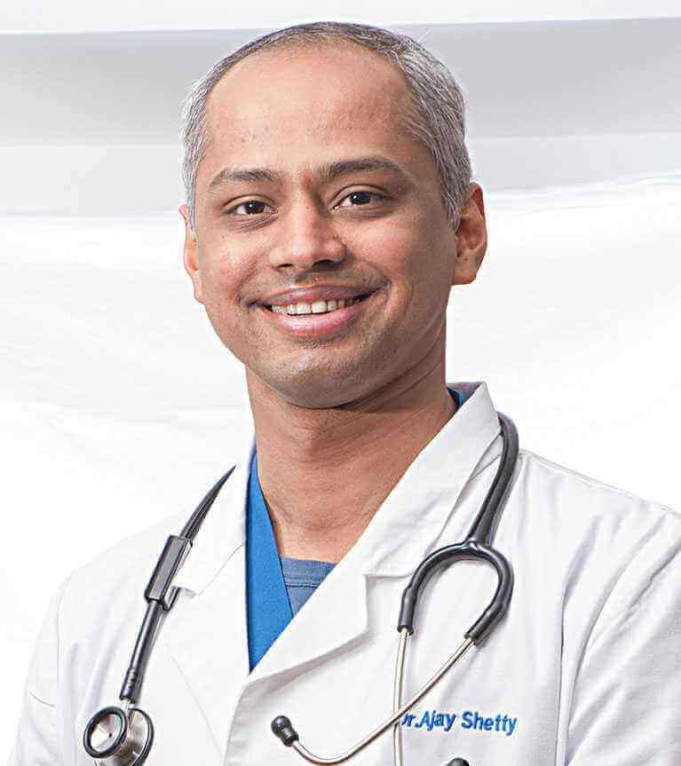 Dr Ajay S Shetty