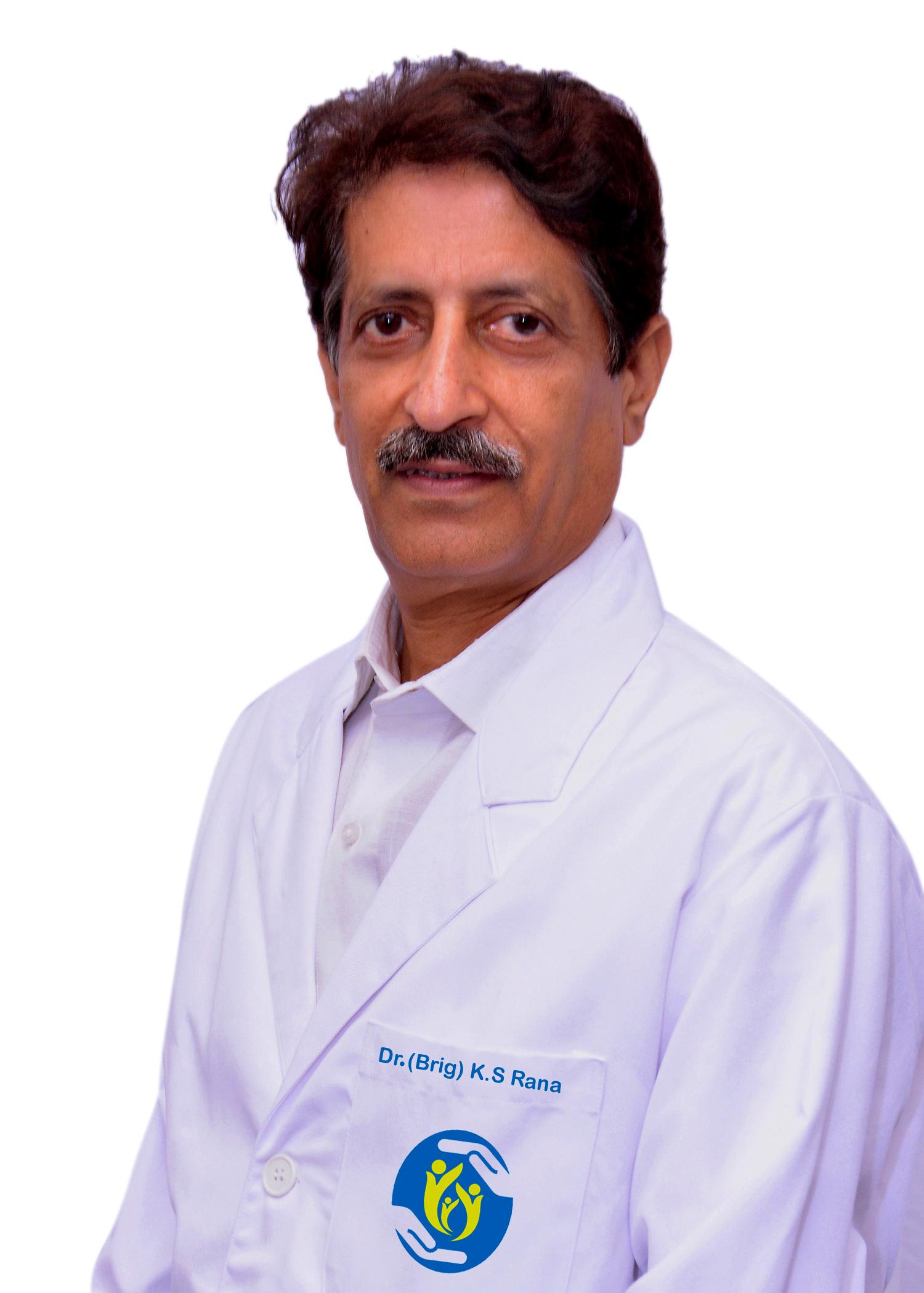 Dr Brig K S  Rana
